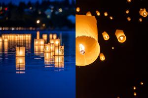Lanternes volantes / flottantes