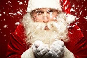 père Noël a domicile à lyon
