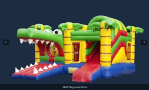 chateau gonflable crocodile